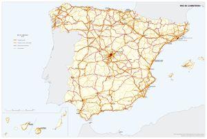 Transporte Por Carretera Atlas Nacional De Espana