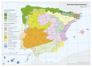 Mapa De Espana Pdf.Biogeografia