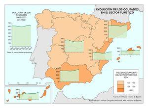 Demanda turística - Atlas Nacional de España