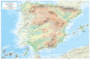 Cartografia General De Espana